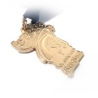 Medalla deportiva.
