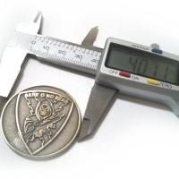 Tamaño de monedas personalizadas