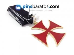 Medalla militar personalizada.