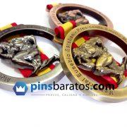 medallas fisicoculturista