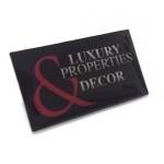 Pins personalizados con logo impresos con logo de empresa.