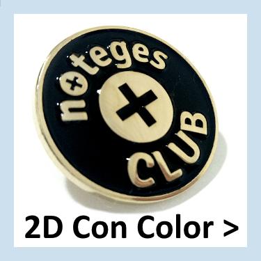 Pins personalizados con colores de esmalte, con entregas a Barcelona.