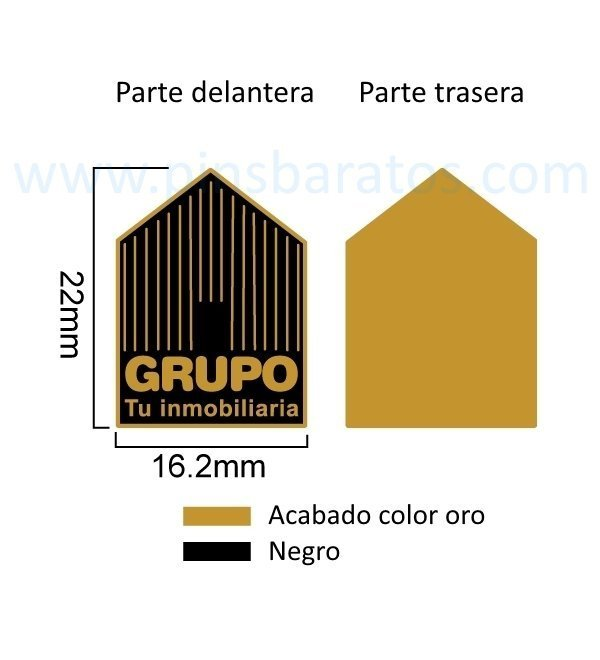Pines-dorados-esmalte-negro